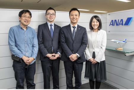 全日本空輸株式会社專案成員