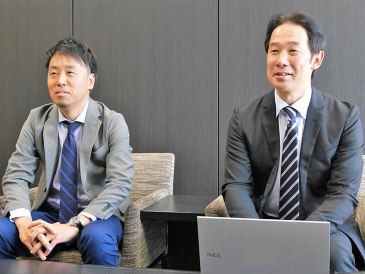 NEC_仁部先生和井內先生
