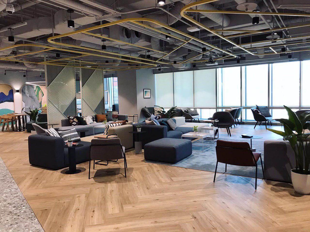 justco 國泰民生大樓 共用空間 Cloud ace 辦公室