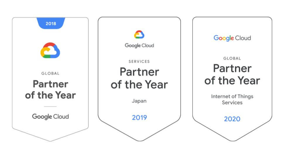 Google Cloud 年度合作夥伴獎